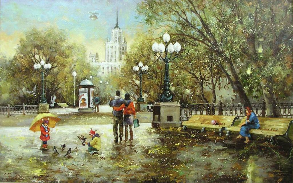 Боев Сергей- Москва. Яузкий бульвар2..jpg