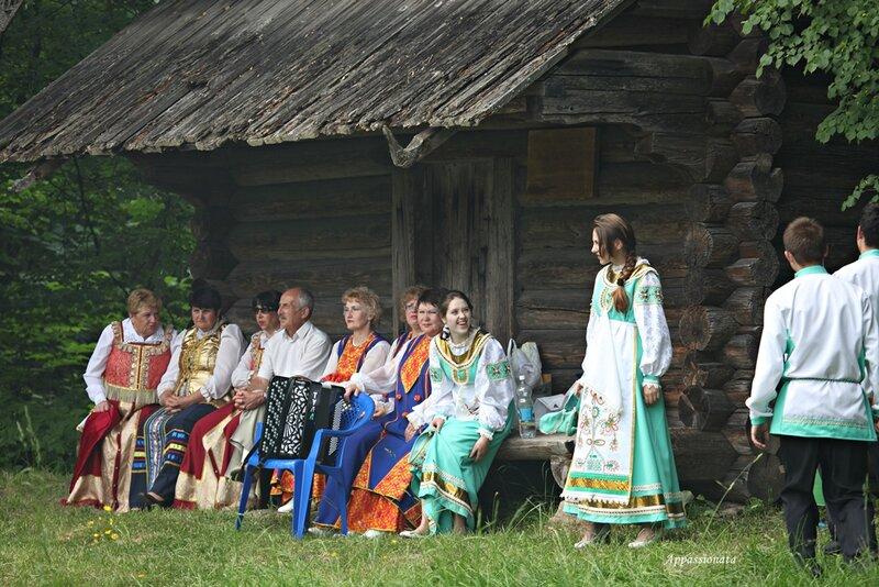 «Троицкие гуляния» в деревне Василево