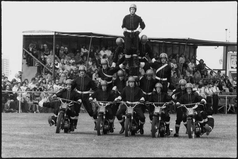 Ian Berry: GB. ENGLAND. Teeside. The English. Near Middleborough, the Teeside Show. 1975