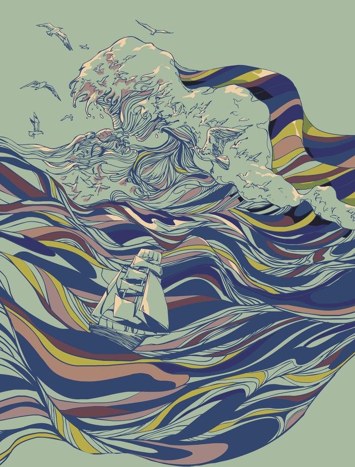 Иллюстратор Chalermphol Harnchakkham. Радужные мечты. 37 мечт