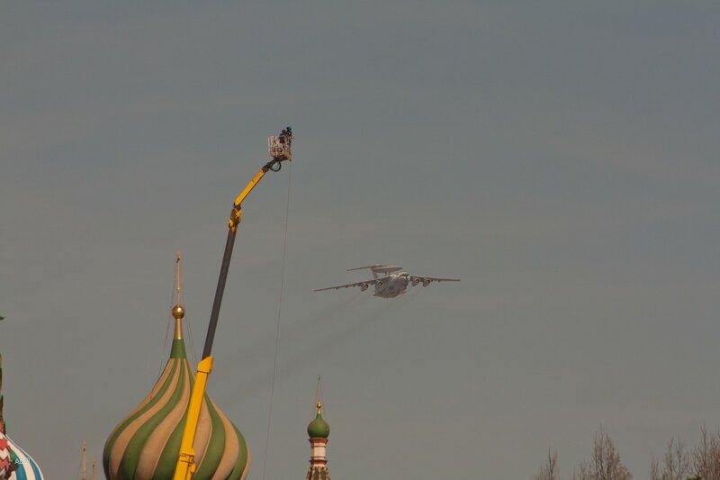 А-50 — самолёт дальнего радиолокационного обнаружения и управления