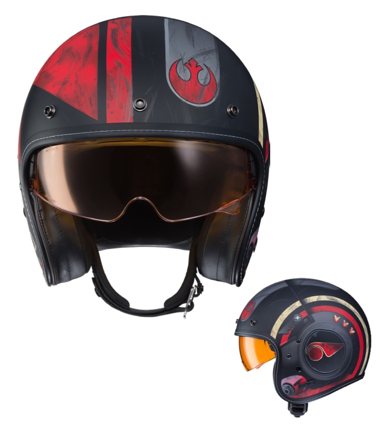Мотошлем HJC FG-70 Poe Dameron Star Wars