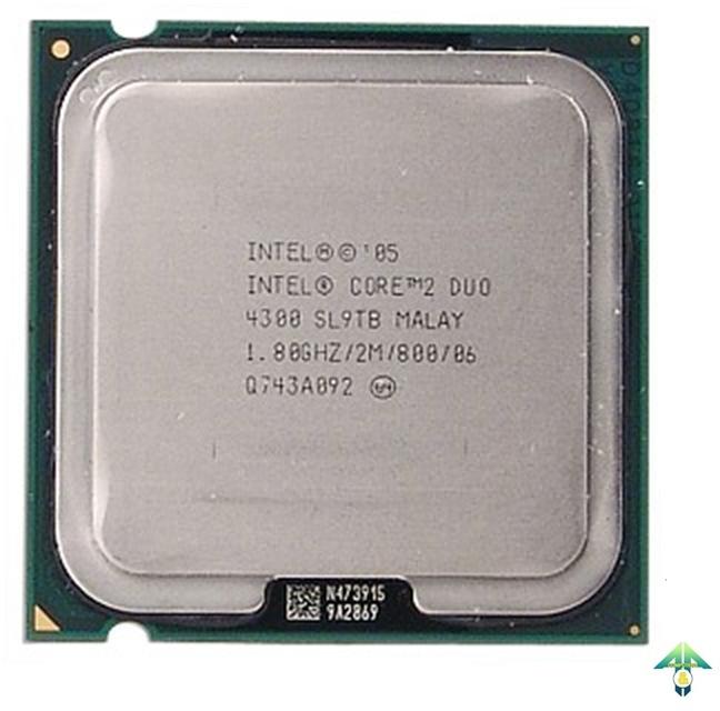 S-775 Core 2 Duo E4300