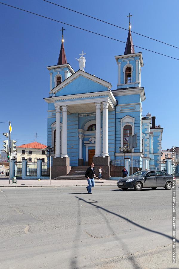 Католический храм «Воздвижения Святого Креста»