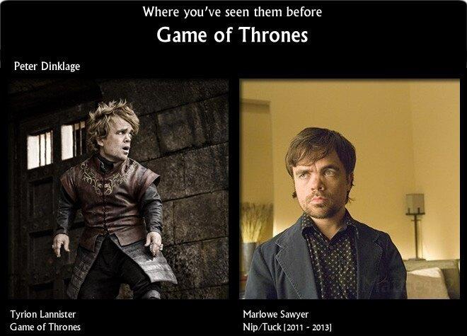 Актеры Игры престолов в других фильмах