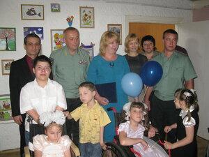 День защиты детей 2013 в детском доме ДОС на ул.Чичерина 167
