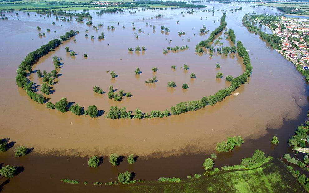 Потоп в Европе июнь 2013