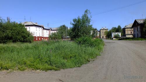 Фото города Инта №4976  Кирова 19, 17а и Лунина 5 (пожарная часть №33) 08.07.2013_14:29