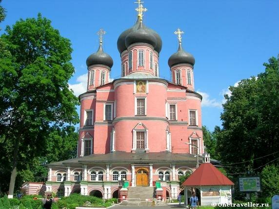 Большой собор Донской иконы Божией Матери Донского монастыря в Москве (1686-1698 гг.)