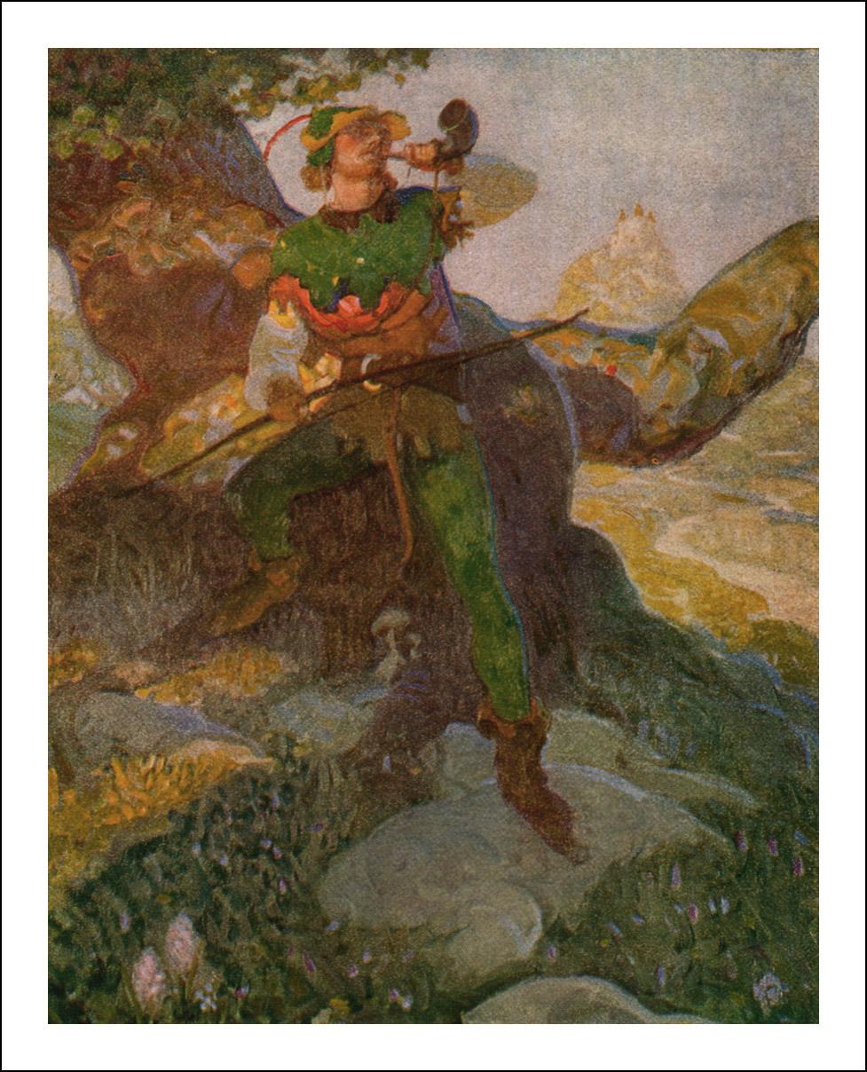 Dan Content, Robin Hood