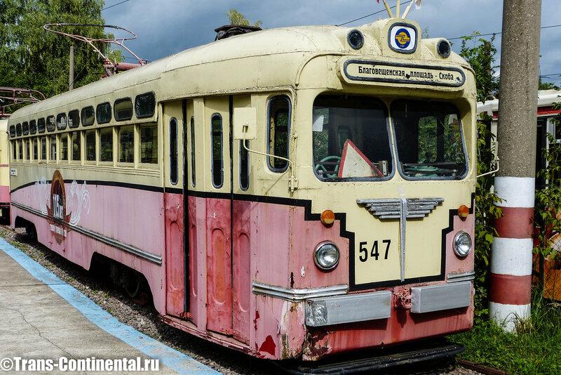 Музей трамваев в Нижнем Новгороде: Трамвай МТВ-82