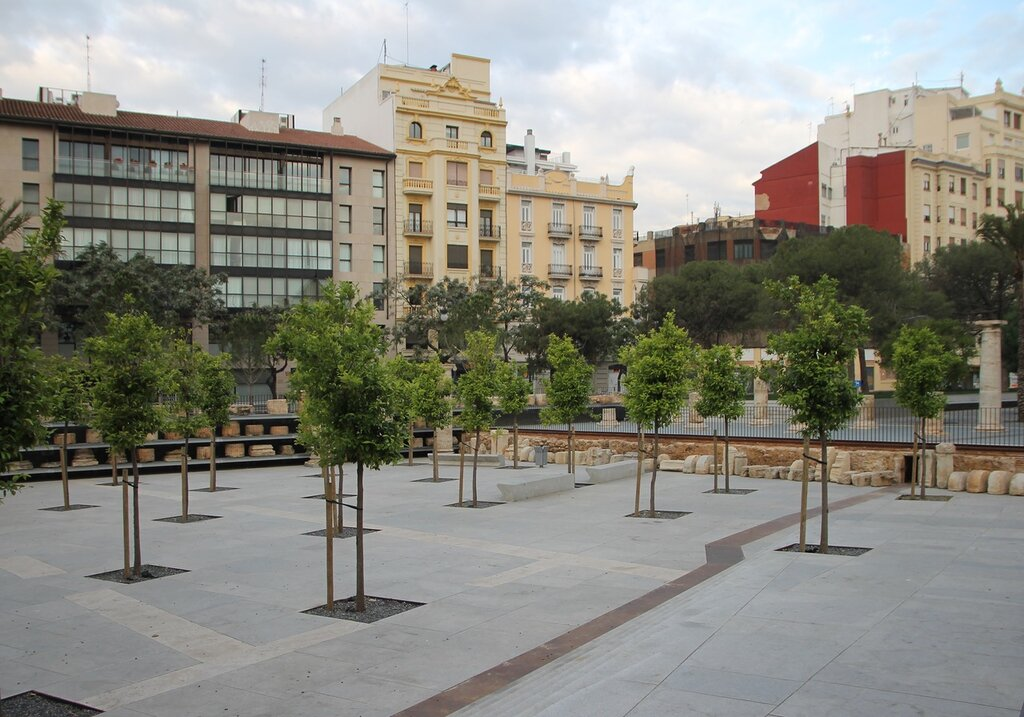 Валенсия. Археологический сад (Jardín Arqueológico)