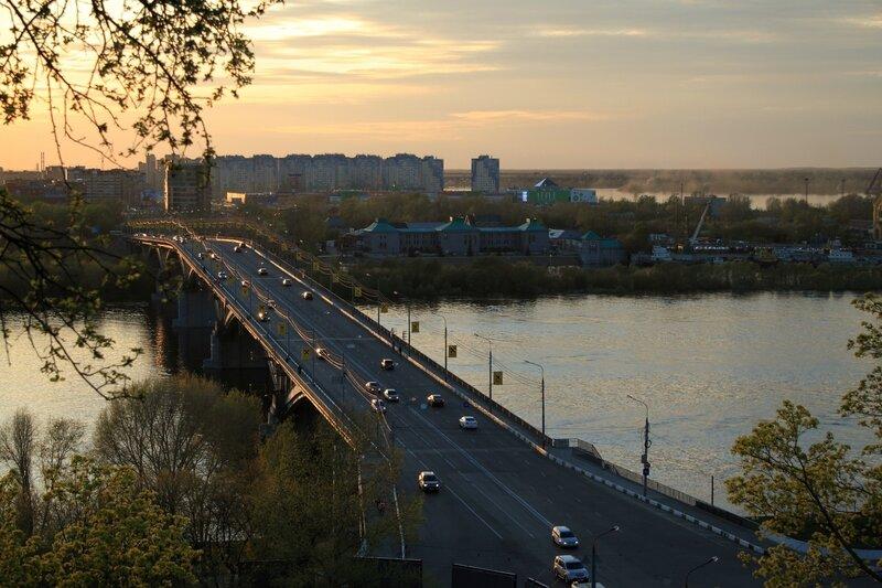 Канавинский мост на закате