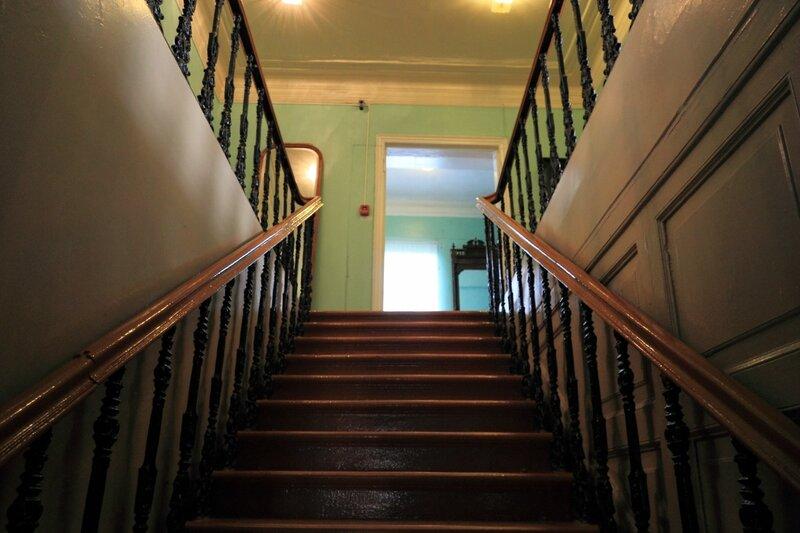 Городецкий краеведческий музей, парадная лестница