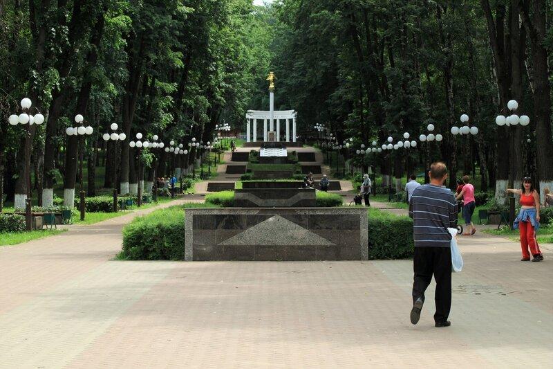"""Дмитров, парк """"Березовая роща"""""""