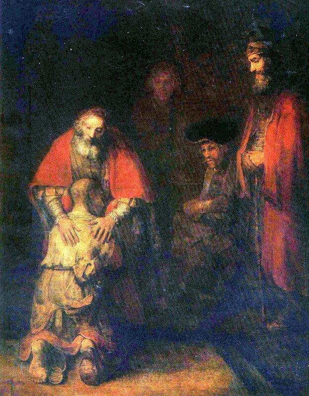 Шедевры Эрмитажа, живопись, Рембрандт, Возвращение блудного сына