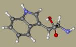 Tryptophan - L-tryptophan, Tryptophane, (S)-Tryptophan, L-Tryptophane, trofan, tryptacin, Ardeytropin, Indole-3-alanine, Pacitron-CID_6305.png