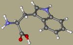 Tryptophan - L-tryptophan, Tryptophane, (S)-Tryptophan, L-Tryptophane, trofan, tryptacin, Ardeytropin, Indole-3-alanine, Pacitron-CID_6305+.png