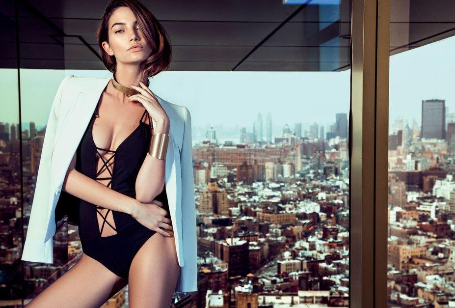 модель Lily Aldridge / Лили Олдридж, фотограф Eduardo Rezende