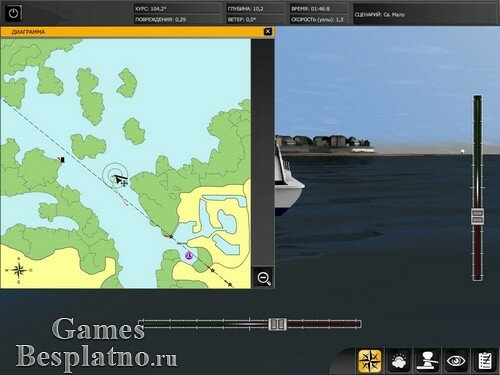 Большая Регата. Морской симулятор