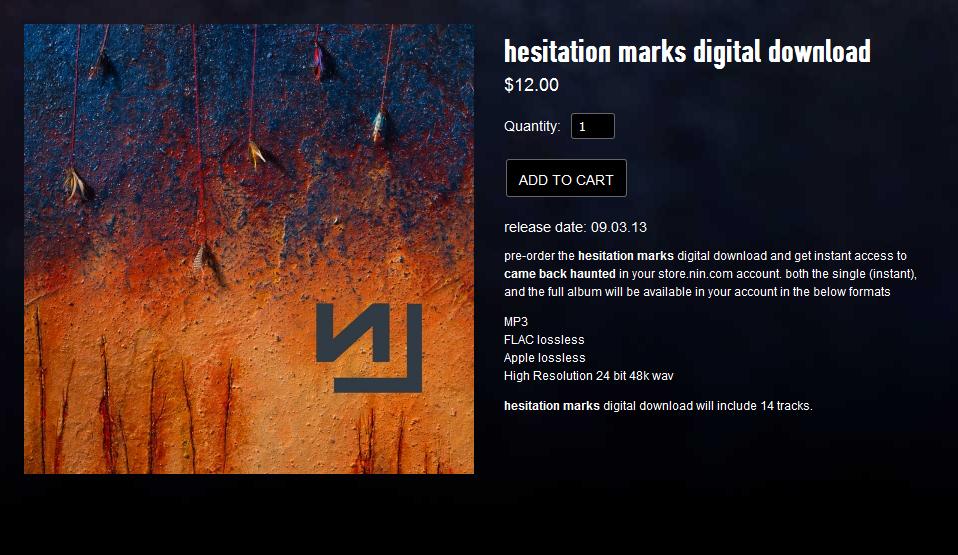 Nine Inch Nails – Halo Twenty Eight: \