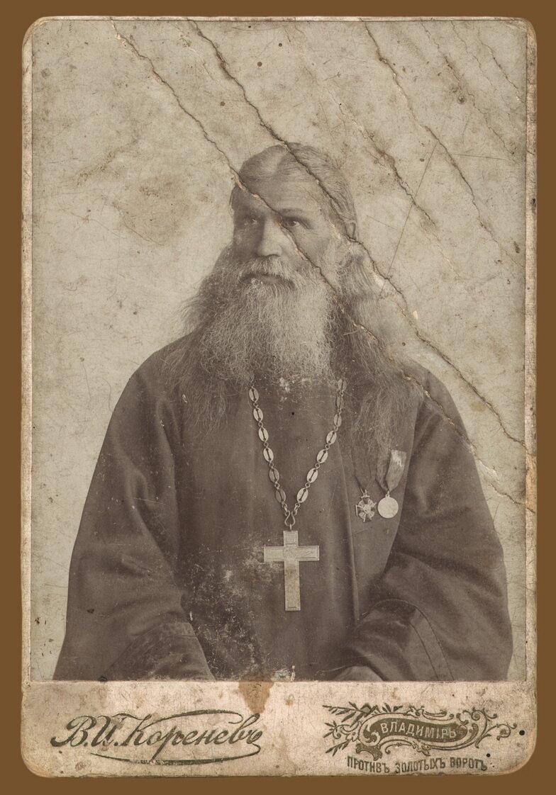 Протоиерей о. Николай Чихачев - благочинный с. Палех