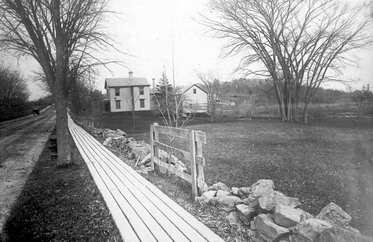 1887. К востоку от Энглвуд авеню