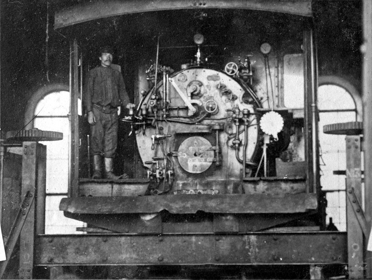 Паровозное депо Златоуст, 1900-е г.