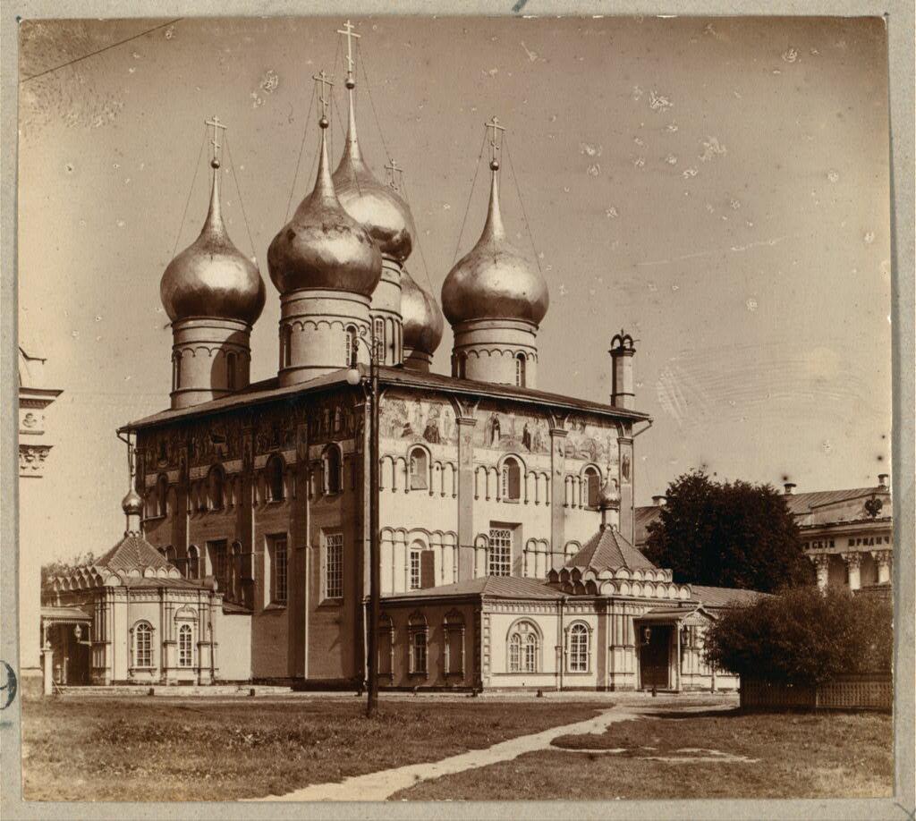 Успенский собор. Ярославль. 1910.