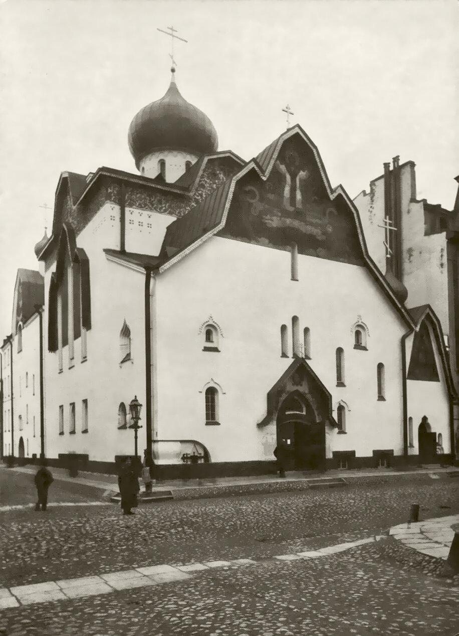 Церковь Божией Матери Казанской Вышневолоцкого Казанского женского монастыря Тверской епархии