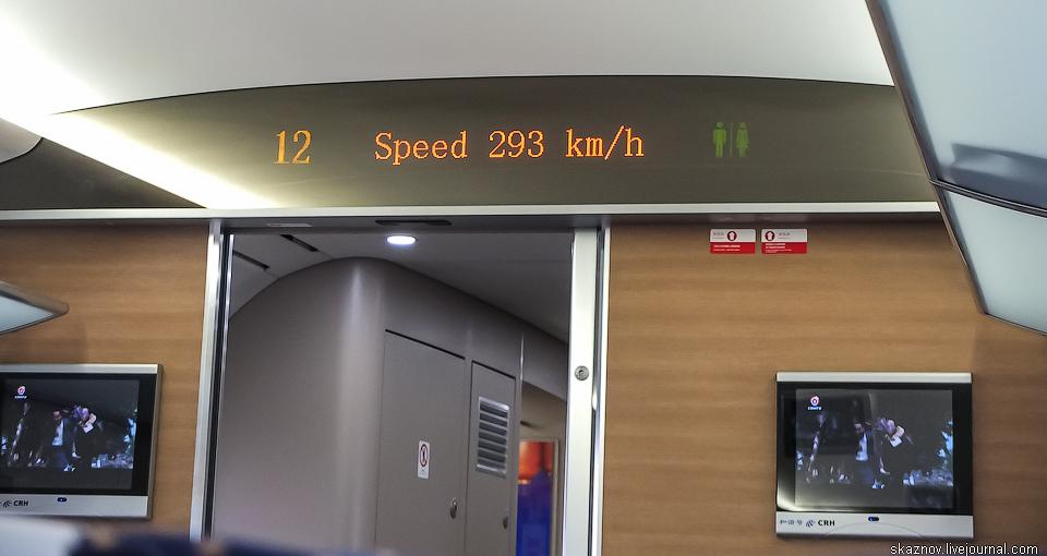 Китай. Поезда