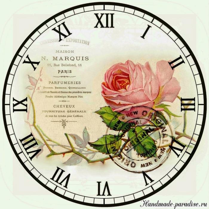 Цветные циферблаты часов. Шаблоны для распечатки