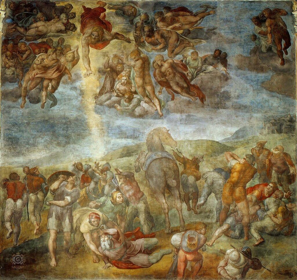Микеланджело Буонарроти: Обращение святого Павла