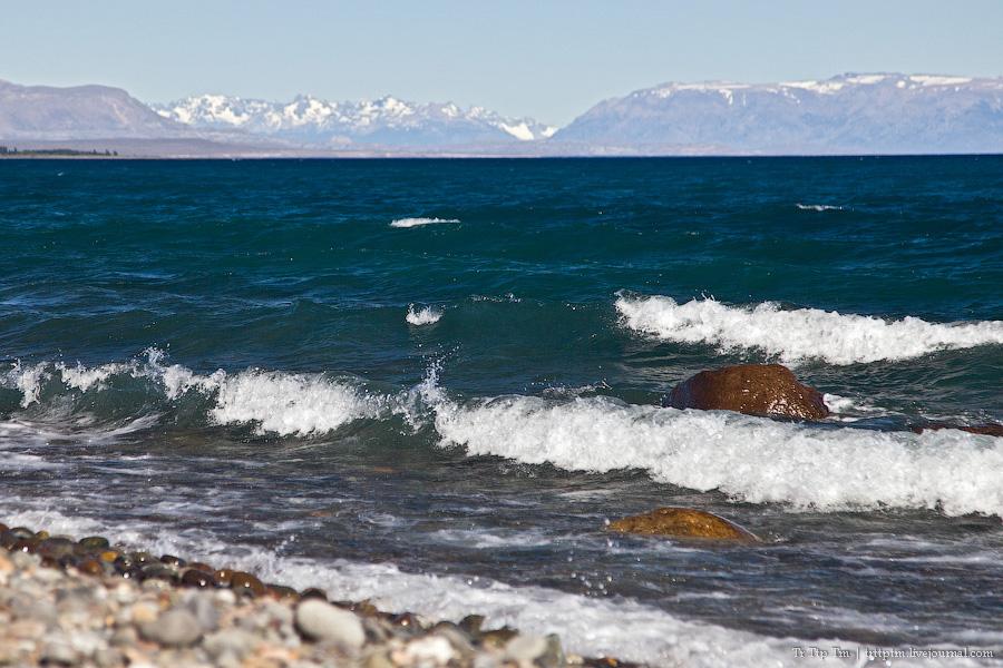 3. Лазурь и мрамор озера Буэнос Айрес - Хенераль Каррера.