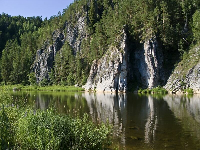 Сплавы по реке Чусовая очень пейзажны (24.05.2013)