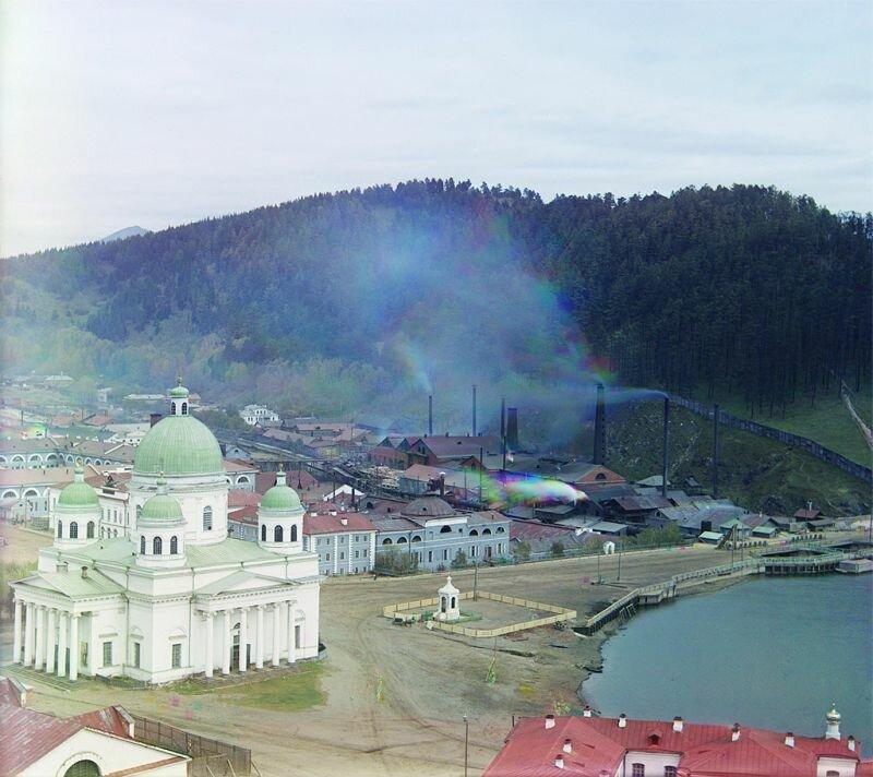 Вид на златоустовские заводы (27.05.2013)