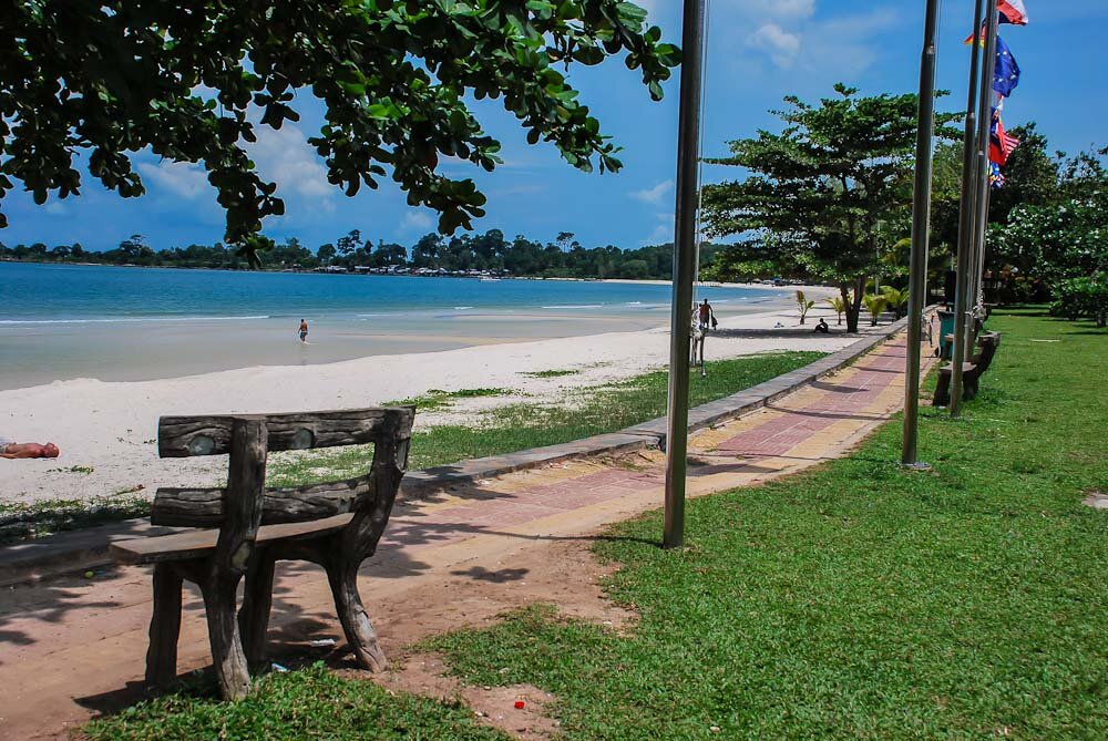 пляжи Сиануквиля