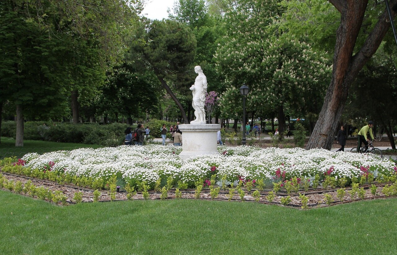 Мадрид. Парк Буэн Ретиро