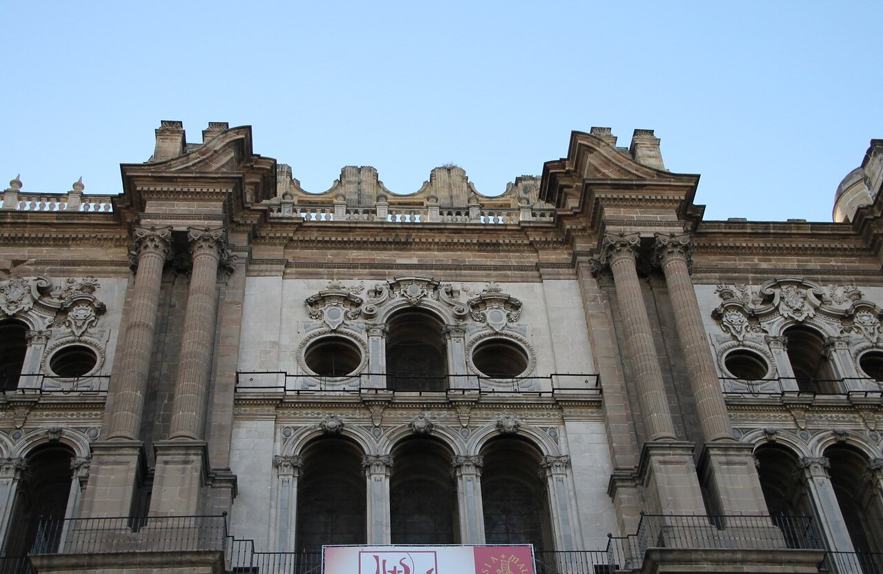 Малага. Кафедральный соброр (Catedral de la Encarnación de Málaga) (Catedral de la Encarnación de Málaga)