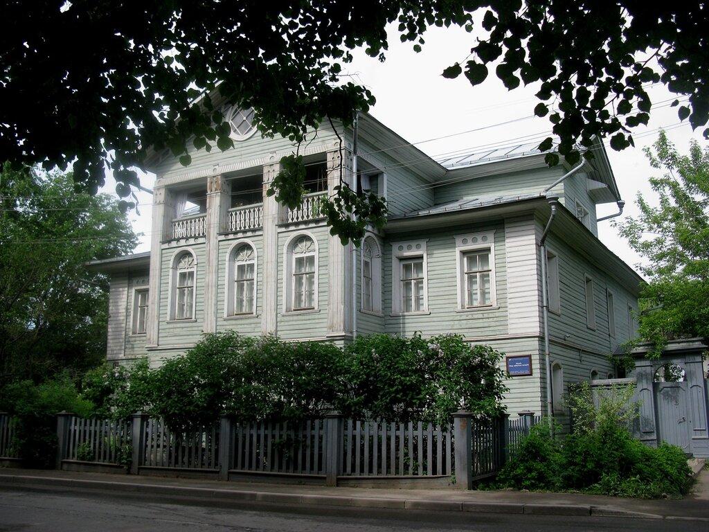Вологда деревянная , резная...Дом с каретником ЗАСОДИМСКОГО (ПАНТЕЛЕЕВА)