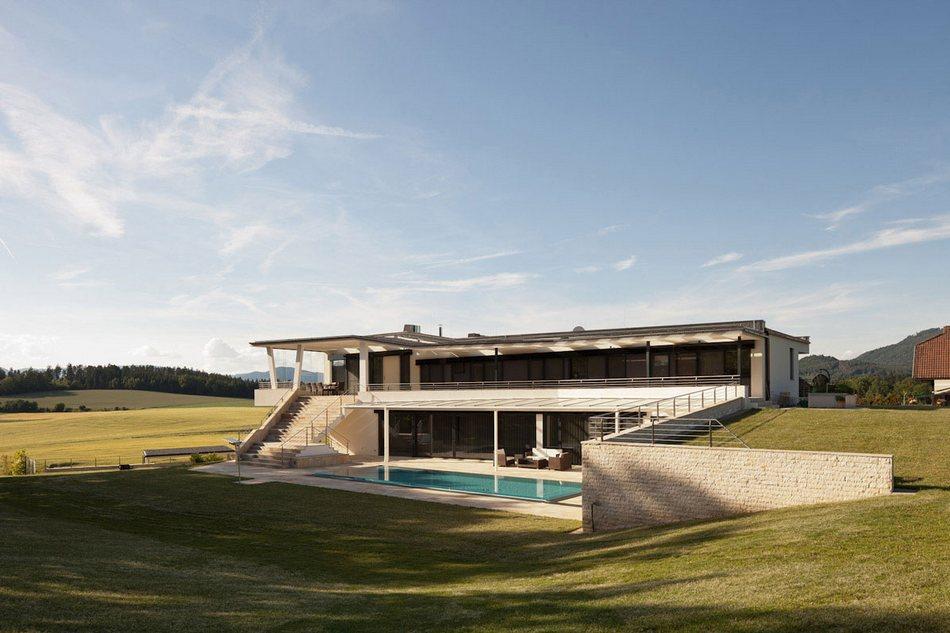 Смелые формы особняка House ANY в Австралии