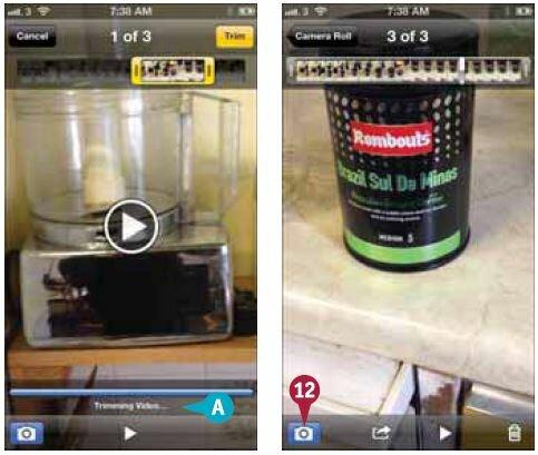 как редактировать видео на Iphone - фото 5