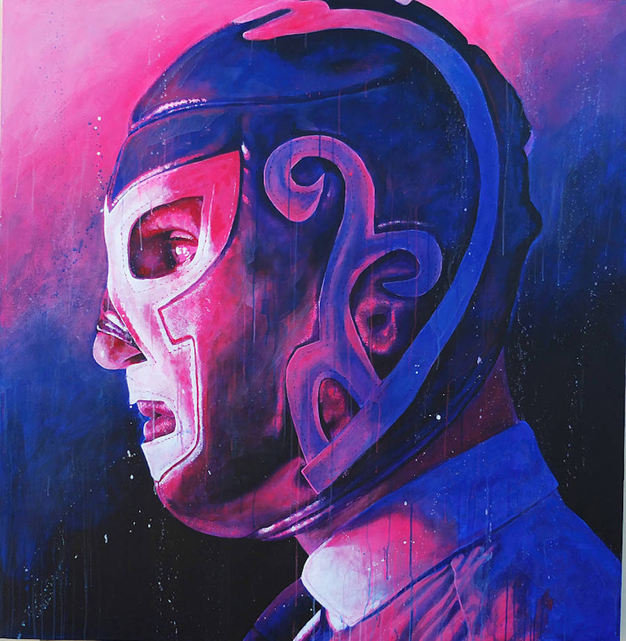 Masked People Alternative Paintings