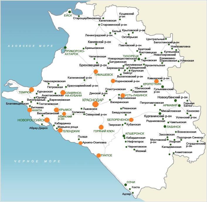 Карта доставок Миллиардума