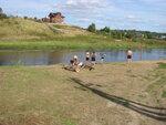 Место купания в районе дер. Петрово