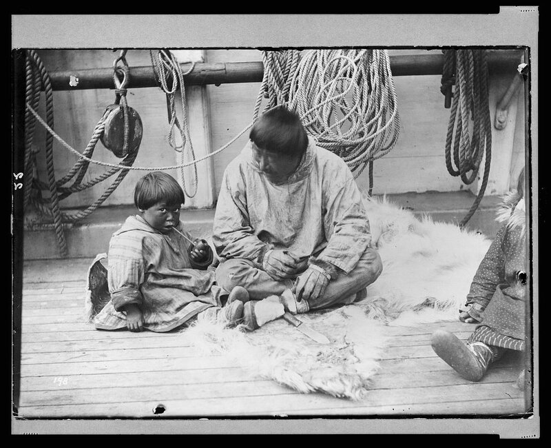 The first lesson 1898