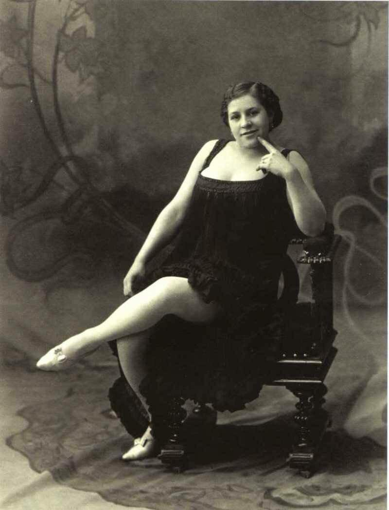 Шансонетка Байкова.Нижегородская ярмарка. 1900-е.