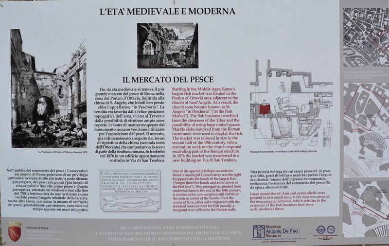 Портик Октавии, Рим