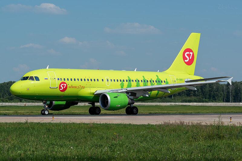 Airbus A319-114 (VP-BHV) S7 D801628