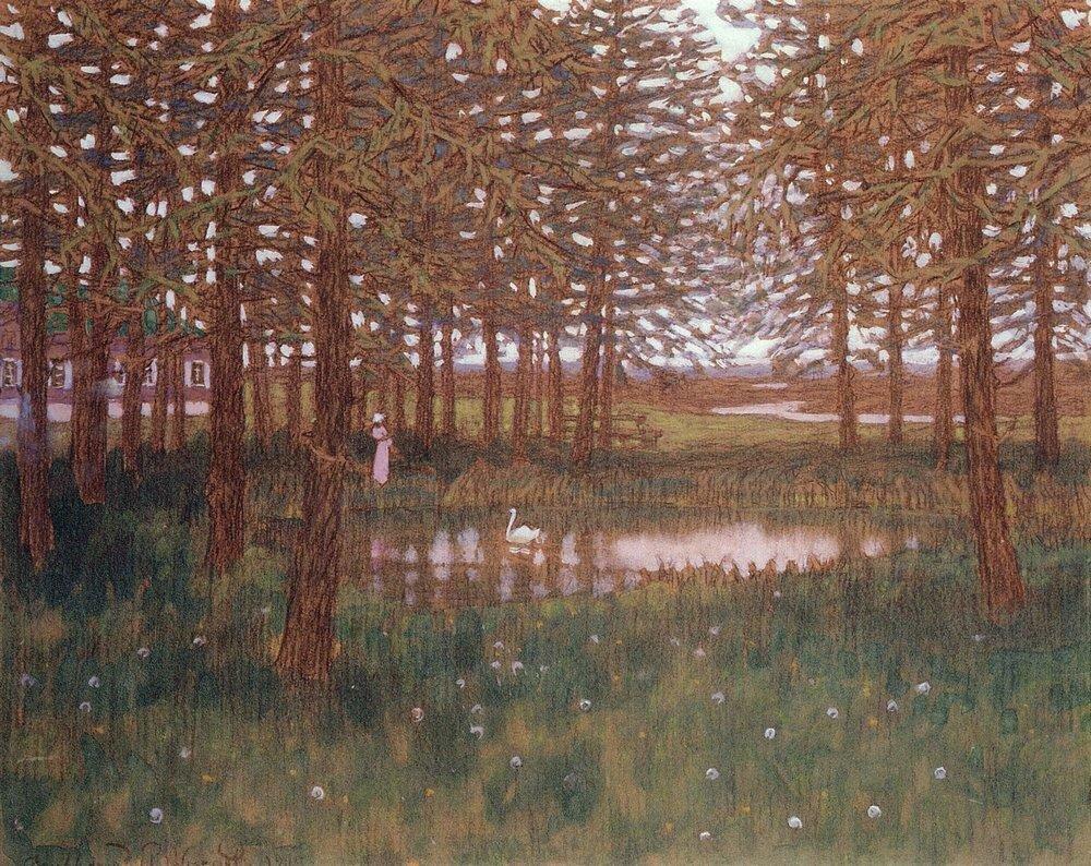Лиственницы. 1905.jpg